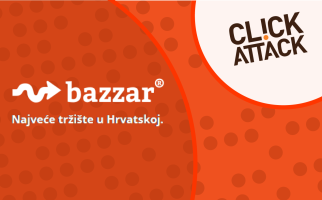 A valuable new addition to ClickAttack's network is the Croatian online market – Bazzar.hr