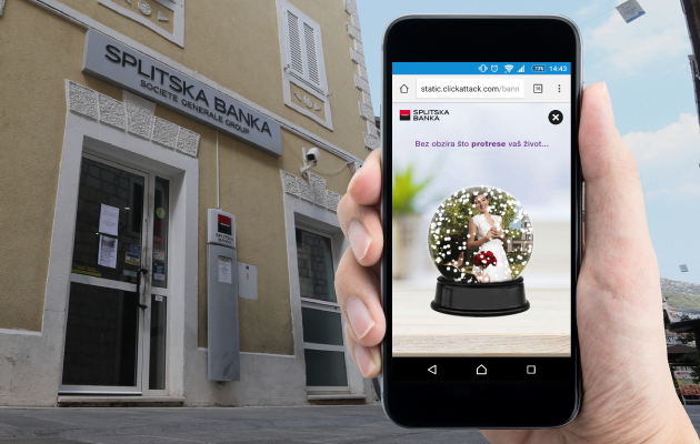 How Splitska banka stimulated its clients that use mobile phones to apply online for cash credits